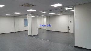 insan ofis bölmə divar