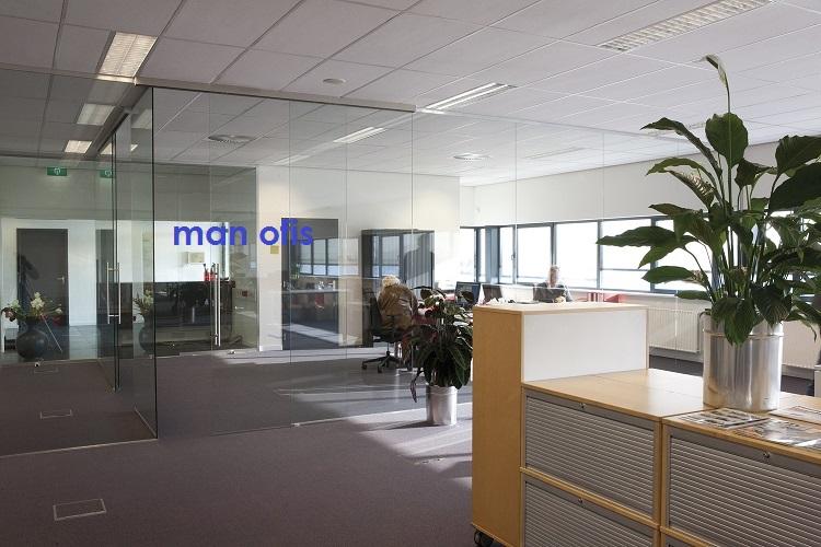 man binası, ofis bölməsi