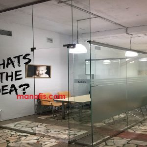 man ofis şüşəsi bölmə qiymətləri