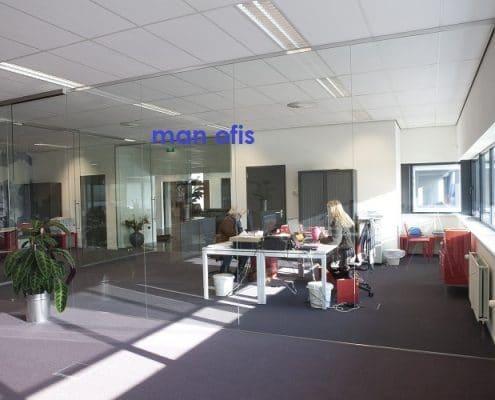 man ofis, ofis bölməsi