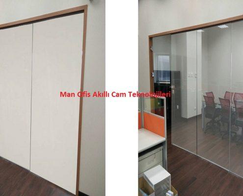 ağıllı cam adam ofis