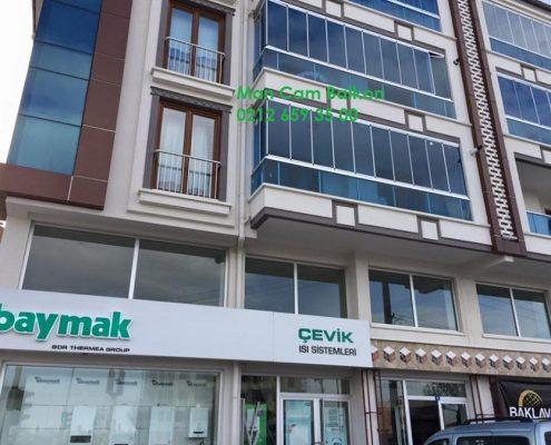 Şüşə Balkon 75