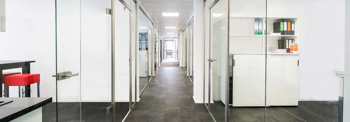 Cam Cama Ofis Bölmə Sistemləri 1
